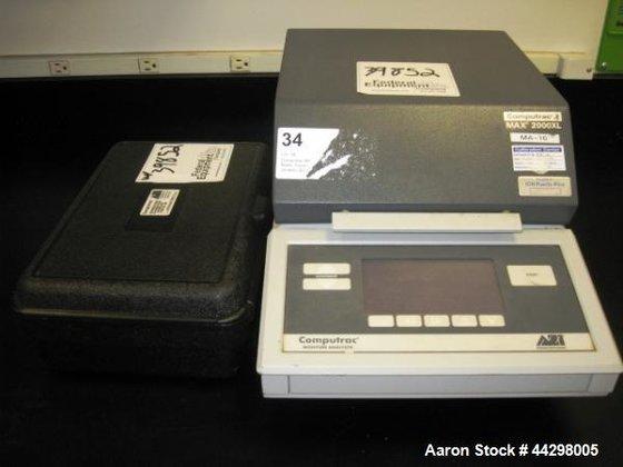 Used- Arizona Instrument Computrax Max-2000