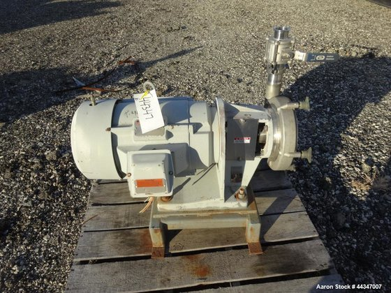 Used- Fristam Centrifugal Pump, Model