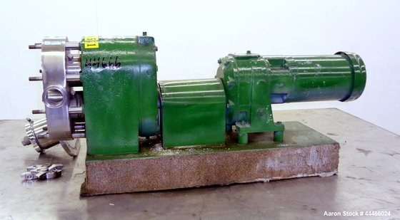 Used- Tri-Clover PR Series Positive