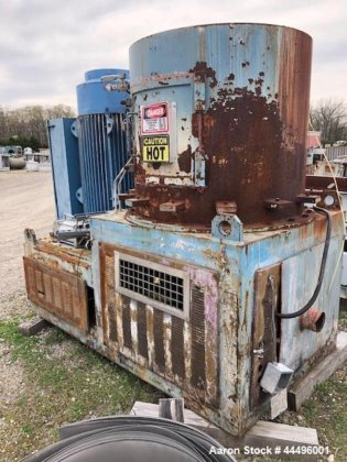 Used- Reg-Mac Film Densifier. Chamber