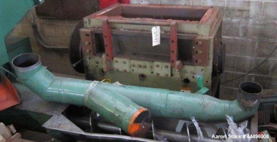 Used Cumberland Model 18X37 Granulator.