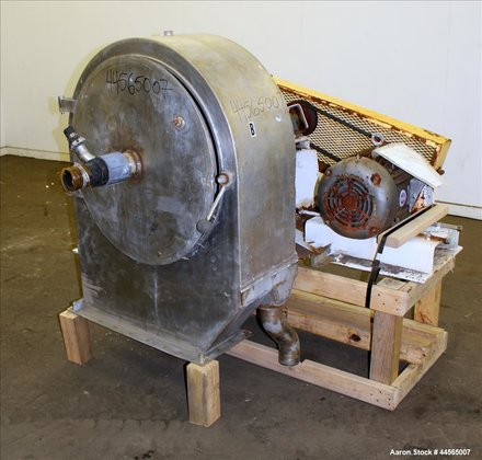 Used- Constant Angle Bowl Centrifugal