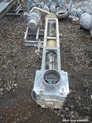 "Used- Screw Conveyor, 6"" diameter"
