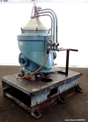 "Used- Alfa-Laval MAPX-313-TGT-29-60 ""Oil Purifier"""