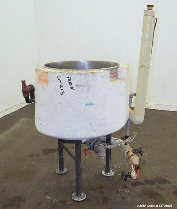 Used- Groen Kettle, 40 Gallon,
