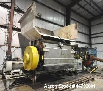Used- Vecoplan Single Rotor Shredder,