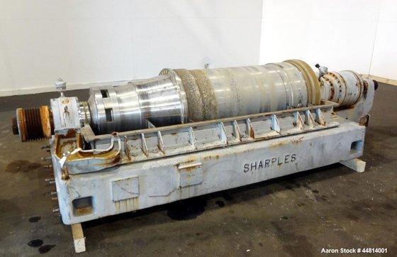 Used- Sharples PM-55000 Super-D-Canter Centrifuge,