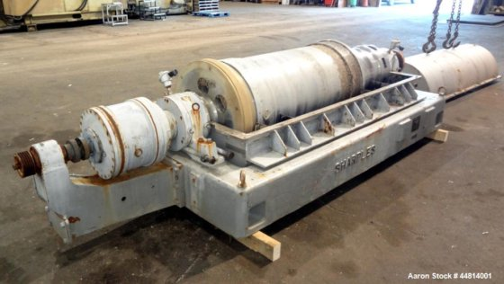 Used- Sharples PM-55000 Super-D-Canter Centrifuge,