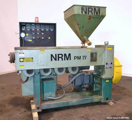 Used- NRM Pacemaker IV 2-1/2""