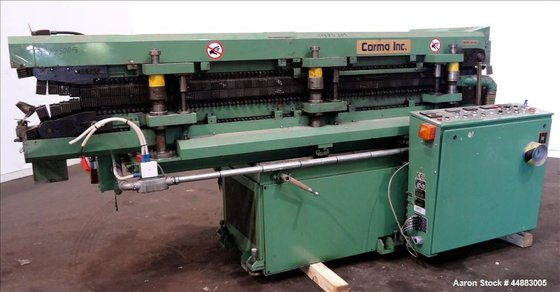 Used- Corma Corrugator Model 120-6HSL,