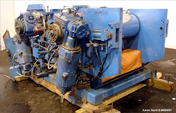 Used- Egan Three Roll Horizontal