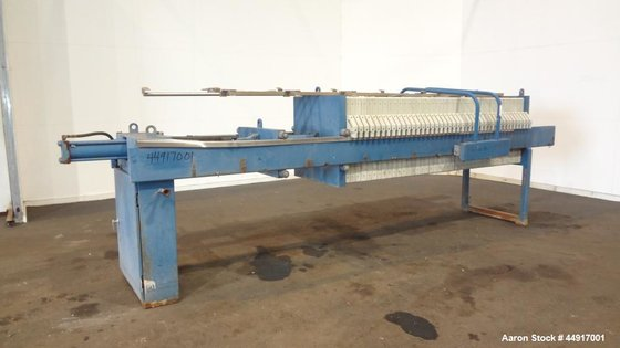 Used- Hoffland Filter Press. Approximately