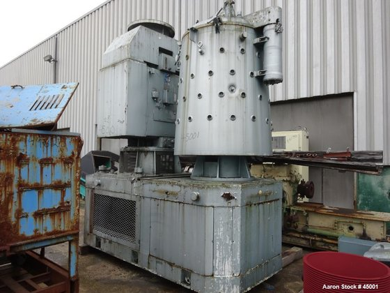 Used- Pappenmeier High Intensity Mixer,