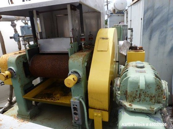 Used- Reliable 2 Roll Mill.