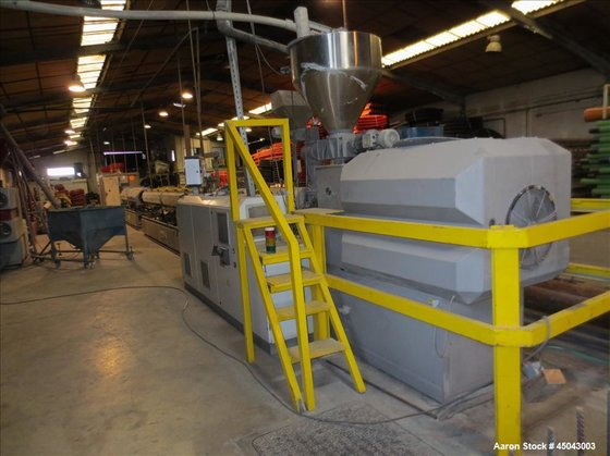 Used-Extrusion Plant consisting of three