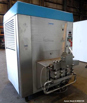 Used- Rannie Homogenizer, Model 50.120H,