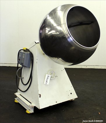 Used- Stokes Coating Pan, 304