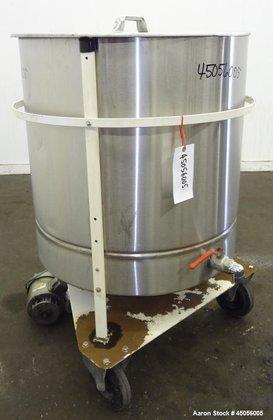 Used- M.J.S. Tank, 300 Liter