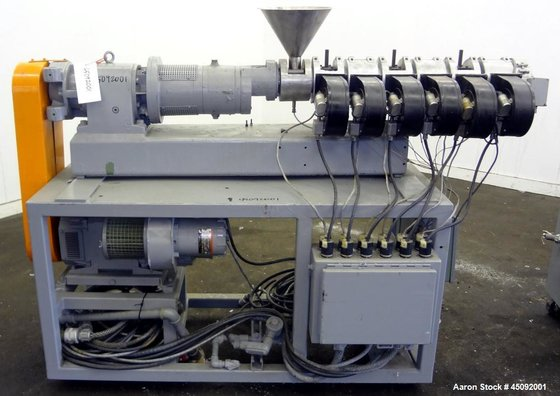 Used- Berstorff Twin Screw Pelletizing