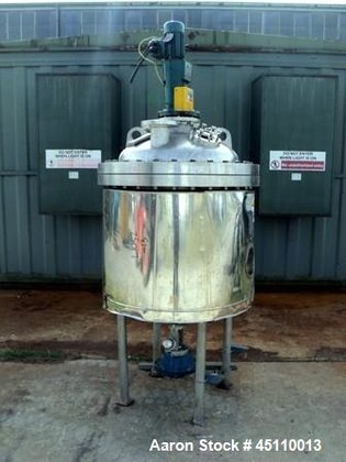 Used- Stainless Service Ltd. Reactor,