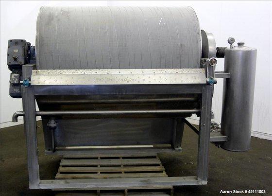 Used- Larsson Rotary Drum Vacuum