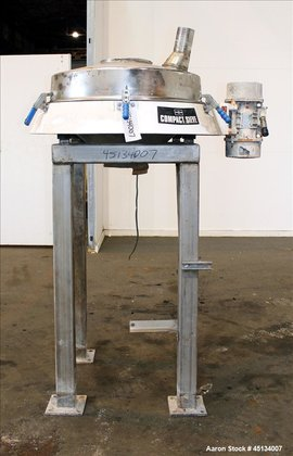 Used- Russell Finex Compact Sieve,