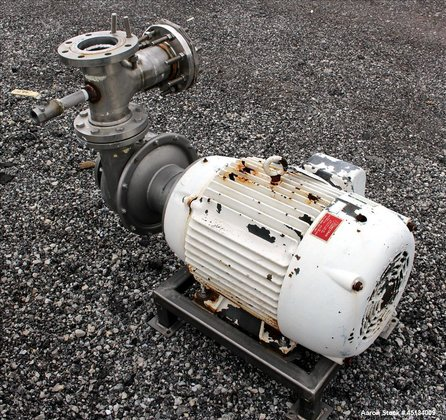 Used- R.S. Corcoran Centrifugal Pump,