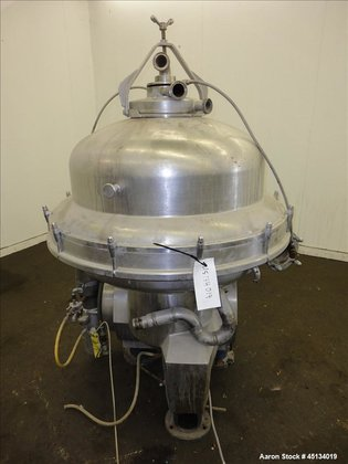 Used- Alfa Laval SRPX-317HG V-15CH-60