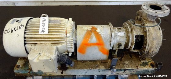 Used- Griswold Centrifugal Pump, Model