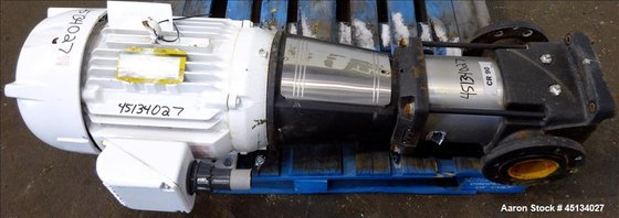 Used- Grundfos Vertical Multistage Centrifugal