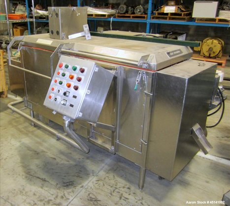 Used-IQF Cryogenic Granulator, Model 400T.