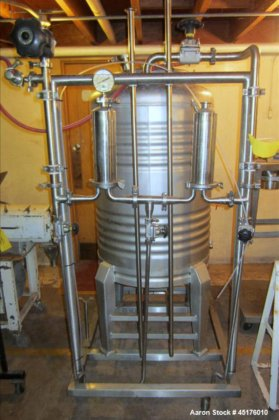 Used-Tetra Pak Filter System, consisting