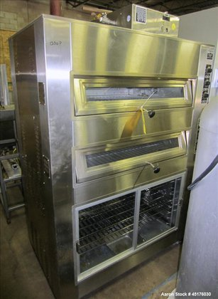 Used-Nu-Vu Electric Deck Oven, Model