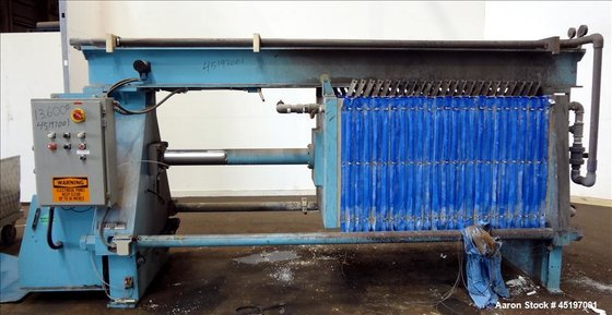 Used- Perrin Head Filter Press,