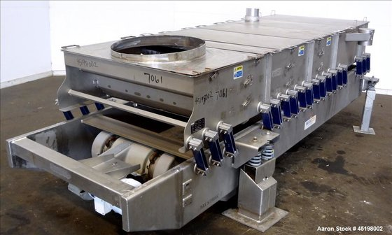Used- Key Technology Iso-Flo Fines/Overs
