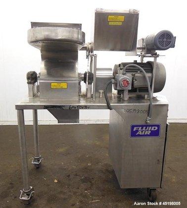 Used- Fluid Air Impact/Screening Mill,