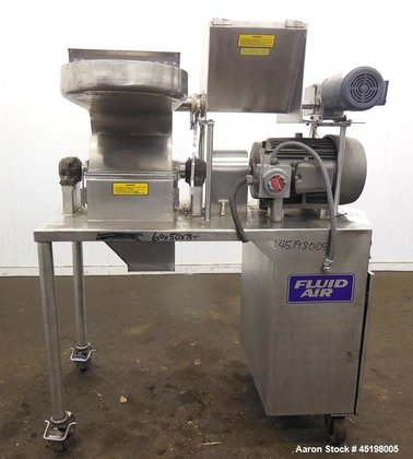 Used- Fluid Air Impact/Screening Mill,
