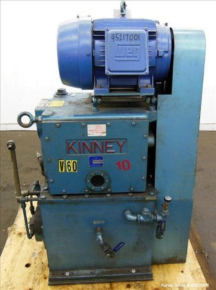 Used- Kinney Single Stage Rotary