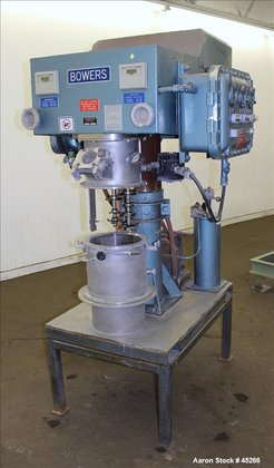 Used- Bowers Vacuum Orbital Shaft