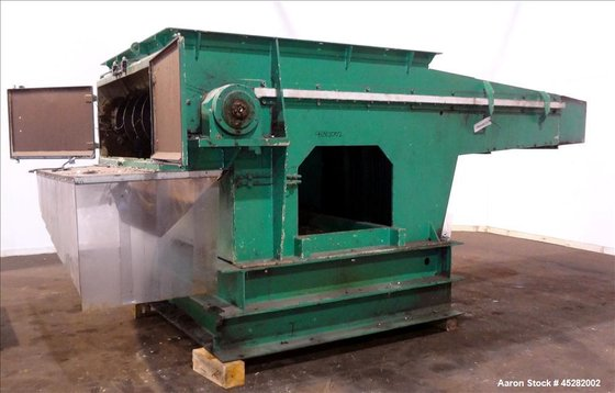 Used- Vecoplan Single-Shaft Rotary Grinder,