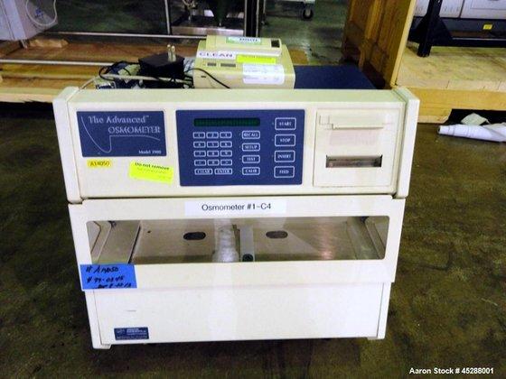 Used- Advanced Instruments Multi Sample