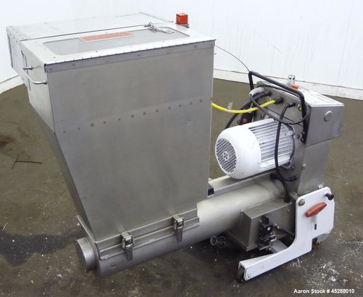 Used- Plastic Recycling Machinery Auger