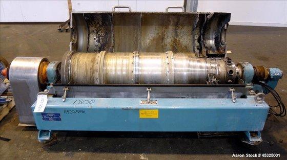 Used- Alfa Laval AVNX-418B-31G Solid