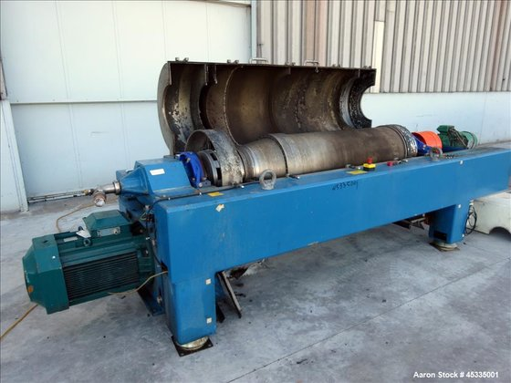 Used- Alfa Laval DSNX-4850 Solid