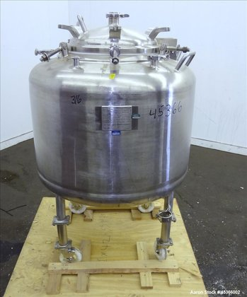 Used- Letsch Pressure Tank, Approximately