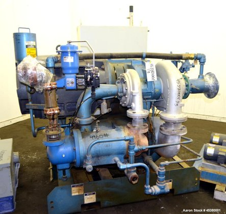 Used- Ingersoll-Rand Centac Water Cooled