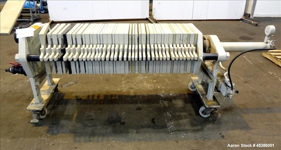 Used- Filtra Plate & Frame