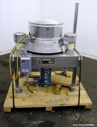 Used- Russell Finex Airswept Sieve,