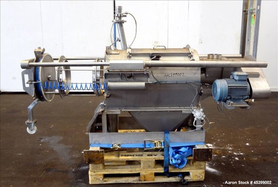 Used- Dinnissen Rotary Sifter, Model
