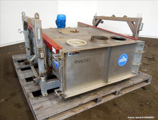 Used- Sweco GyraMax Gyratory Sifter,